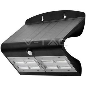 Lampe Murale Solaire Noir 6,8W 800LM IP65 4000K V-TAC - 8279