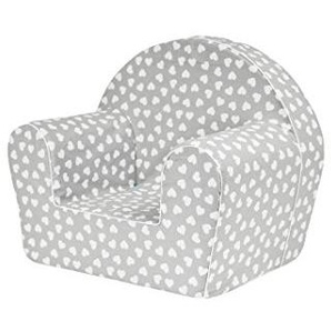 MoMika chaise enfant | fauteuil | Siège de canapé | Tabouret pour enfants Enfants | Meubles pour enfants | 0-4 ans | (Hearts)