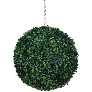 Boule DHerbe Artificielle, Decorations De Mariage De Balcon De Paysage, Vert Fonce, 35Cm - ASUPERMALL