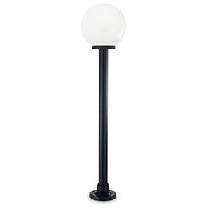 Lampadaire Blanc CLASSIC GLOBE 1 ampoule - IDEAL LUX