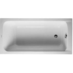 Baignoire Duravit D-code 1500 x 750 mm - avec pieds - Acrylique Blanc
