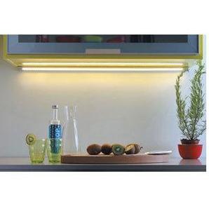 Mini réglette dangle led 12v - : - Puissance : 6,6 W - : - Fixation : En applique - Couleur de la lumière : Blanc chaud - Indice de protection : IP 20 - Décor : Aluminium - Type déclairage : LE - VOKIL