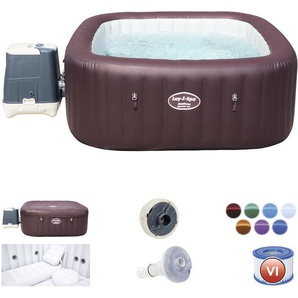 Spa Hinchable Bestway Lay- Z-Spa Maldives Para 5-7 personas Cuadrado - 54173