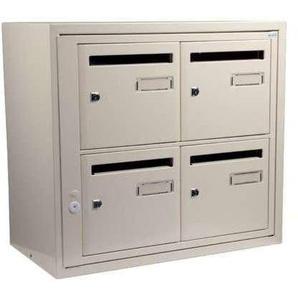 Bloc boîte aux lettres collective extérieur - B8 en applique - Languedoc standard - Decayeux