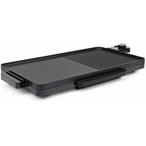 Hommoo Plancha électrique 2 en 1 2000 W 49x27 cm Noir