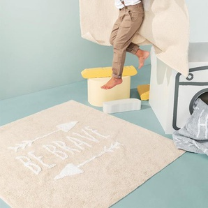 Lytte Tapis lavables pour enfants Inka Be Brave Bleu clair 120x180 cm - Tapis pour chambre denfants/bébé