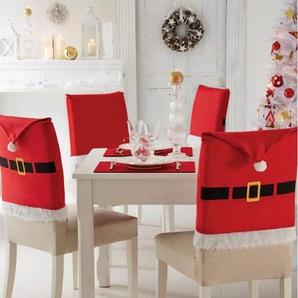 Set de 4 Housses de chaise Noël