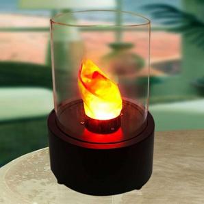 Lampe décorative LED ronde - Lampe de cheminée