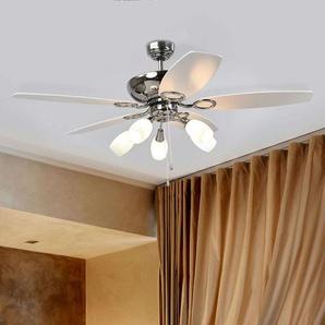 Ventilateur de plafond à 5 pales Cedrik