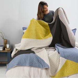 Bloco, couvre-lit en patchwork, multicolore
