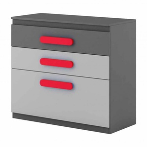Commode enfant personnalisable Play - Rouge