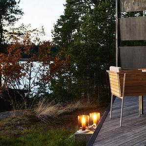 Skargaarden Table Häringe - acier brossé - 170 x 85 cm