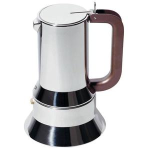 Alessi 9090/M- Cafetière Expresso - inox 18/10/finition miroir/10 tasses/compatibilité avec l'induction