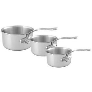 3 casseroles Murban inox Ø16, Ø18, Ø20 cm