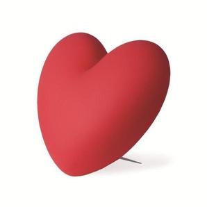 LOVE-Lampe à poser Coeur H40cm Rouge Slide - designé par Stefano Giovannoni