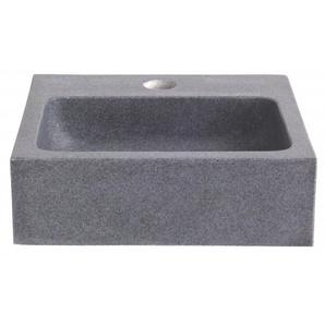 Lave main en pierre de très grande qualité gris ardoisé - Planetebain