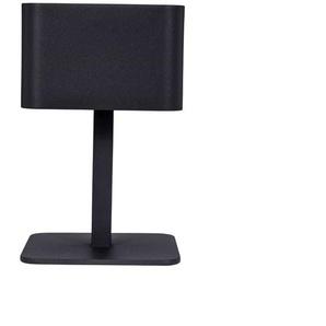 POSE 02-Lampe à poser dextérieur LED solaire Aluminium H25cm Noir Charbon Maiori