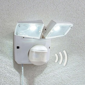 Spot solaire LED Ignaz, 2lampes, blanc