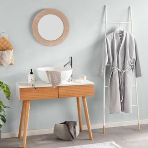 Tapis de Bain Bamboo Bleu clair 50x80 cm - Tapis pour salle de bain