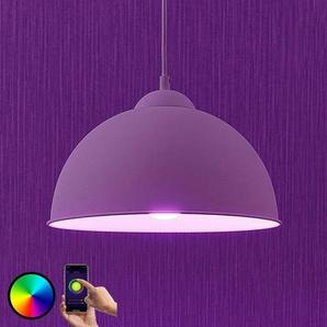 Lindby Smart suspension LED Bowl 31cm blanc