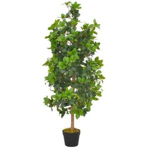 Plante artificielle avec pot Laurier Vert 120 cm - ASUPERMALL