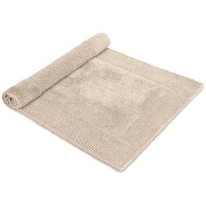 Möve Tapis de Bain Loft Crème 60x100 cm - Tapis pour salle de bain