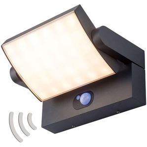 Applique dextérieur LED Sherin solaire, capteur