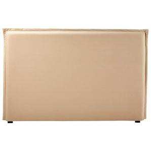Housse de tête de lit 180 en coton beige