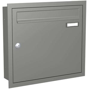 Boîte aux lettres Express Box Up 110 - gris alu