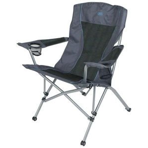 Camp Gear Chaise de camping pliable Deluxe Comfort Anthracite 1204744