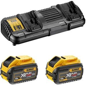 DEWALT Pack 2 batteries XR FLEXVOLT 54V 3Ah + DCB132 - DCB132X2