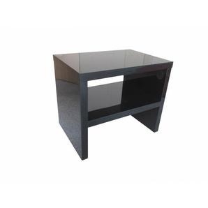 Chevet design noir Bastian - Noir - DELADECO