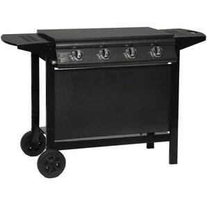 Barbecue au gaz REDFERN - 4 brûleurs 14kW - HAPPY GARDEN