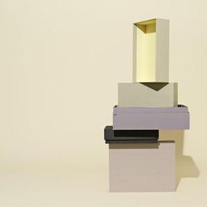 HAY Box Box/ Desktop Set - gris rayé