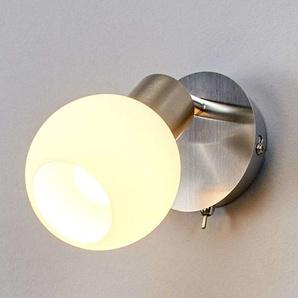 LED Applique Murale Elaina en métal pour salon & salle à manger - LINDBY