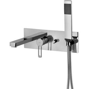 Mitigeur pour baignoire intégré Paffoni Ringo - West RIN001 - WS001   Noir mat - RINGO