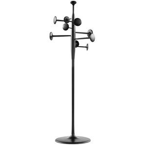 Mater Porte-manteaux Trumpet - noir/poudre revêtue/H 200cm / Ø 64cm