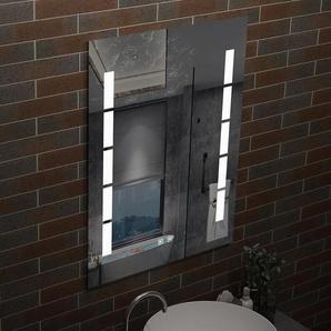 Miroir LED anti-buée 60x45cm miroir de salle de bain - AICA SANITAIRE