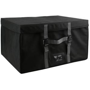 Malle de rangement rigide et sac compresseur dair 150L noir