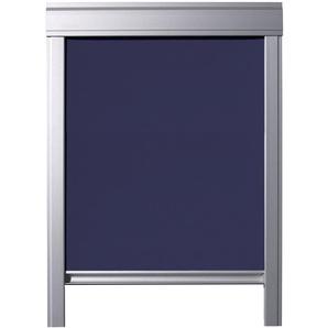 Store occultant pour VELUX fenêtres de toit, GGL C02, GGU C02, Bleu Foncé - ITZALA