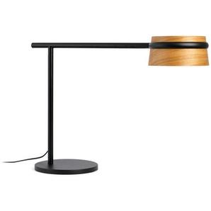 LOOP Lampe de table - Noir et bois - FARO
