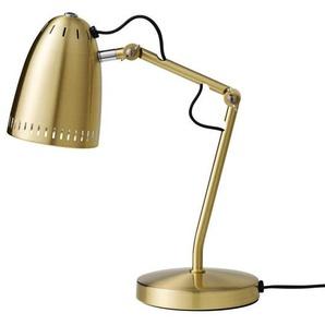 DYNAMO TABLE-Lampe de bureau Articulée Métal H40cm Laiton brossé Super Living