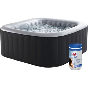 Pack spa gonflable ALPINE carré 158cm - 4 places + pastilles de brome - MSPA