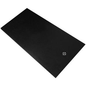 Saniclass Relievo Receveur de douche 160x90cm Fine Stone antibactérienne et antidérapant noir mat 9226