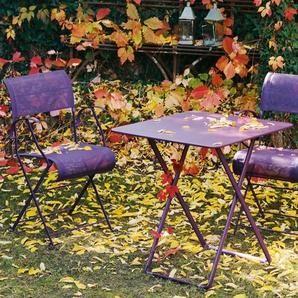 Fermob Table pliante PLEIN AIR - 65 vert tilleul mat