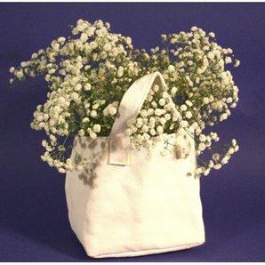 Serax Cache-Pot en Toile Blanche - Petit modèle