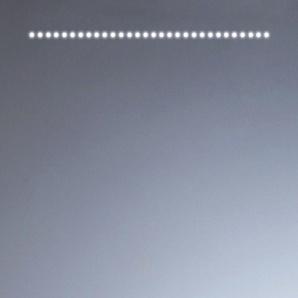Miroir de salle de bains avec éclairage LED - Modèle EVA 60 - 60 cm x 60 cm (HxL) - PRADEL