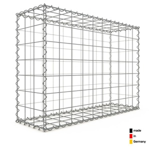 Gabion 100x70x30cm « made in Germany » - mailles carrées 10x10cm - GABIONDECO