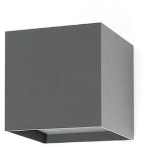 OLAN LED-Applique LED dextérieur Métal H14,5cm gris foncé Faro