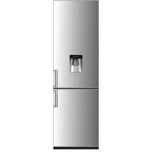 Réfrigérateur combiné 262L Continental Edison CEFC262DS classe A+ argenté - avec distributeur deau